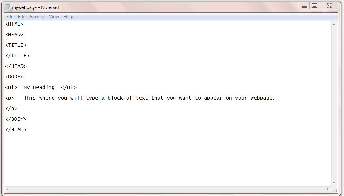 Building Content into an HTML document