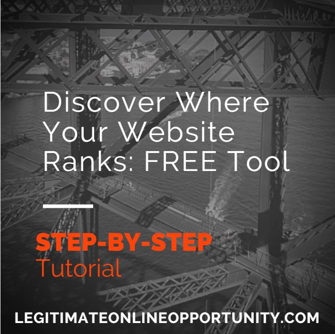 where does your website rank, discovering where your website ranks