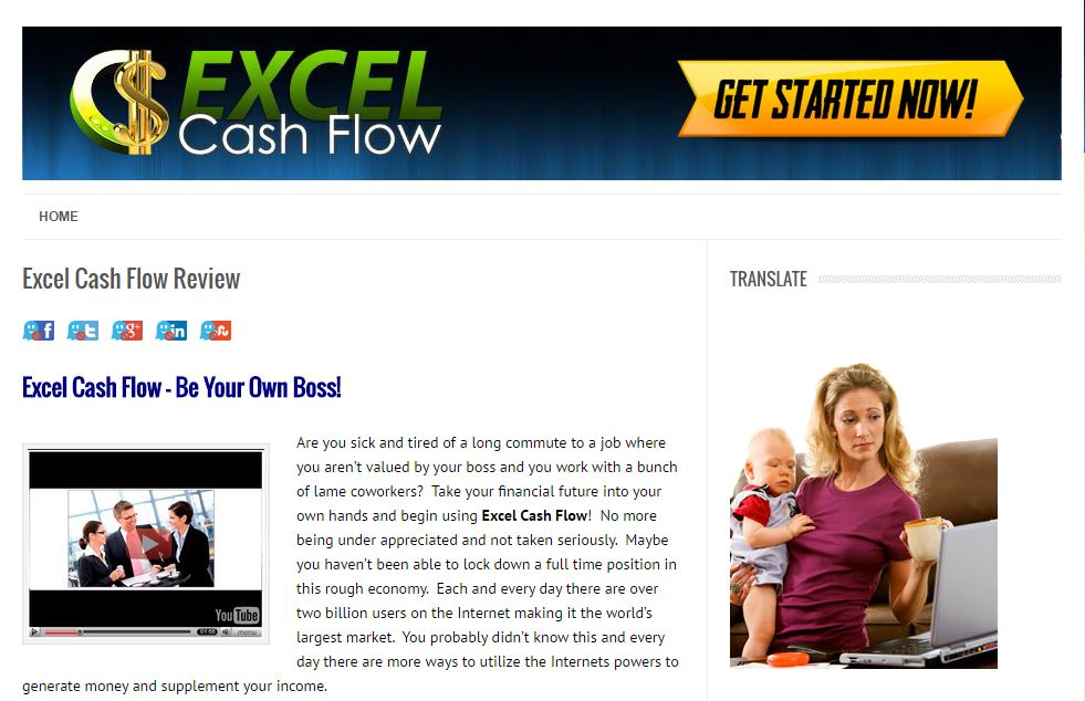 Excel Cash Flow: A Total Scam