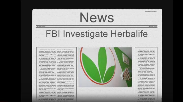 FBI Investigates Herbalife for being a pyramid scheme