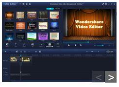 WonderShare Editor