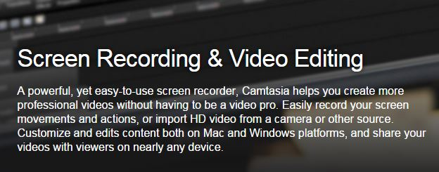 Camtasia Software