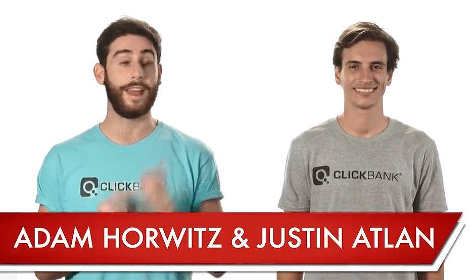 Adam & Just Atlan, Creators of ClickBank Unversity