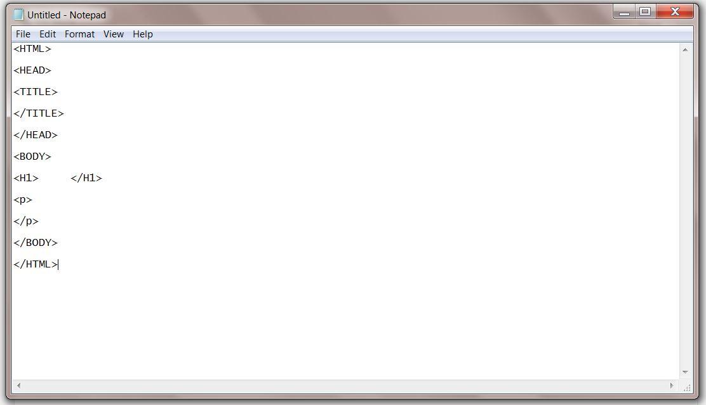 HTML framework
