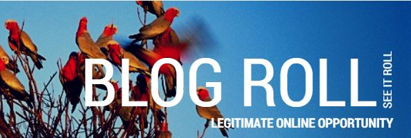blog roll, legitimate online opportunity