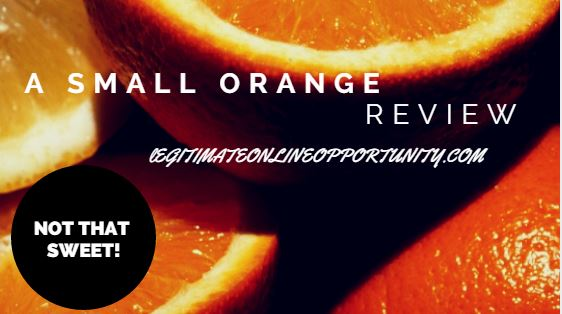 A small orange review - not that sweet