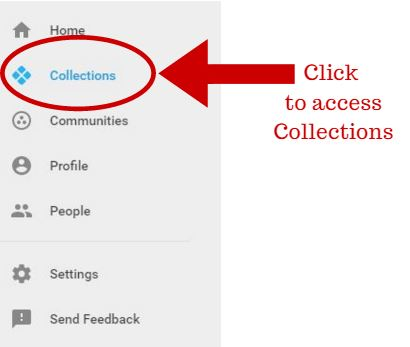 Click to access collections